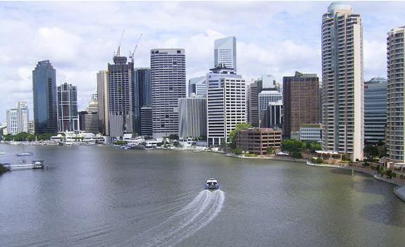Brisbane - Notre point de chute